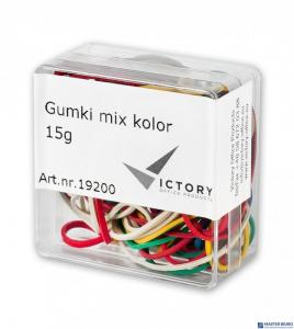 Gumki recepturki VICTORY mix kolor 15g w pudełkuVO2615G-99
