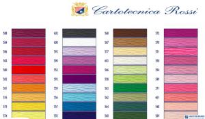 Bibuła karbowana, włoska gruba 180g ciemnoniebieska 557 Cartotecnica Rossi
