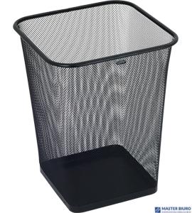Kosz na śmieci GRAND 18L kwadrat siatka czarny 120-1459