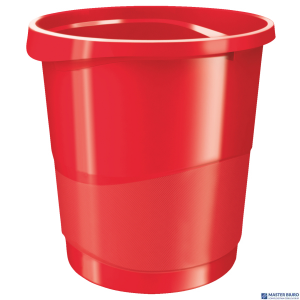 Kosz na śmieci ESSELTE EUROPOST VIVIDA 14l czerwony 623947