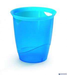 Kosz na śmieci DURABLE TREND 16l niebieski przezroczysty 1701710540