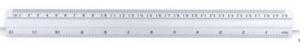 Linijka aluminiowa 30cm GR-111 -30 130-1323