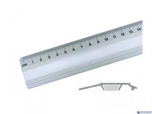 Linijka biurowa 20cm 30070 LENIAR