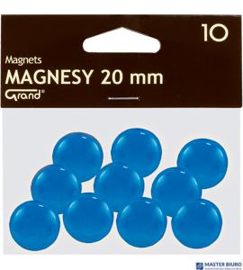 Magnesy 20mm GRAND niebieskie  (10)^ 130-1690