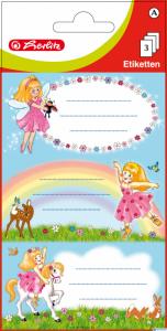 Naklejki szkolne(3)TĘCZOWE WRÓŻKI 0011294279
