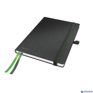 Notatnik LEITZ Complete A5 80k czarny w kratkę 44770095