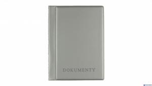 Okładka_na dokumenty silver,1 BIURFOL KOD-04-01 duża Wycofana