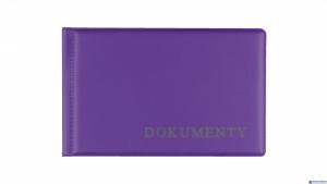 Okładka na dokumet.małe violet BIURFOL KOD-02-05