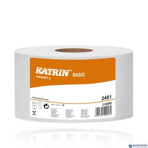 Papier toaletowy BASIC Gigant S (12) 2481 KATRIN 121258  150mx95o180