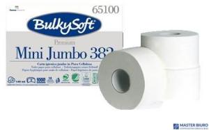Papier toaletowy mini jumbo 2w 145m(12) 65100 BulkySoft