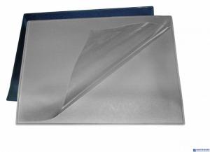 Podkładka na biurko z folią BANTEX 49x65 PVC czarna 100551498