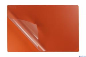 Podkład na biurko z folią 38x58 orange BIURFOL KPB-01-04