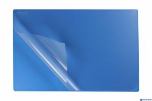 Podkład na biurko z folią 38x58 sky BIURFOL KPB-01-06