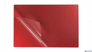 Podkład na biurko z folią 38x58 czerwony PB-01-03 BIURFOL