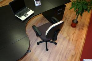 Mata pod krzesło DATURA na podłogę 140x60 miękka ergonomiczna