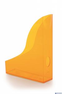 Pojemnik na czasopisma BASIC A4 pomarańcz-przezr. DURABLE 1701711009