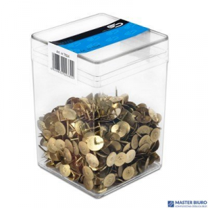 Pinezki złota (750szt) 1280 VICTORY plastikowe pudełko