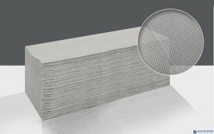 Ręcznik składany ZZ LAMIX CLIVER ESTETIC ECONOMIC makulatura szary 1warstwa 4000 listków
