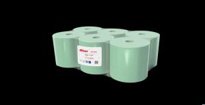 Ręcznik Cliver 130 1 warstwa makulatura zielony (op 6szt)