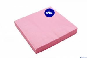 Serwetki AHA różowe 20sztuk