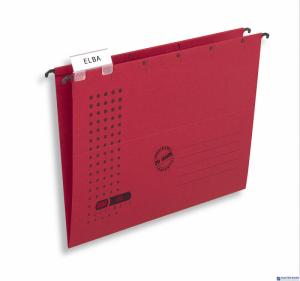 Teczka zawieszana CHIC A4 czerwona ELBA 100552089