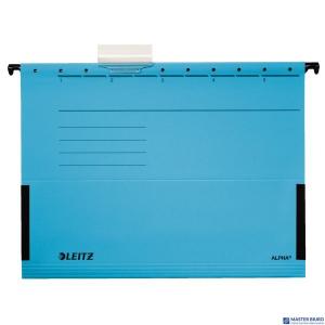 Teczka zawieszana ALPHA niebieska z rozszerzanymi bokami LEITZ 19860135