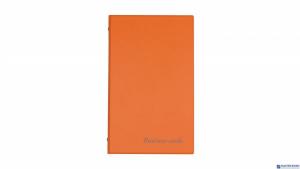 Wizytownik na 200wiz.orange BIURFOL KWI-01-04 (pastel pomara.)