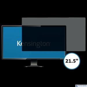 Kensington privacy filter 2 way removable 54.6cm 21.5 Wide 16:9 626482