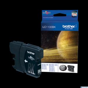 Tusz BROTHER (LC1100BK) czarny 450str DCP-185C/385C/585CW/669