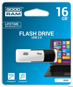 Pamięć USB GOODRAM 16GB UCO2 BLACK&WHITE USB 2.0 UCO2-0160KWR11