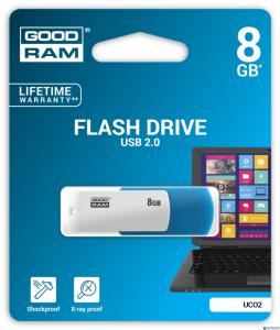 Pamięć USB GOODRAM 8GB UCO2 USB 2.0 miks kolorów UCO2-0080MXR11