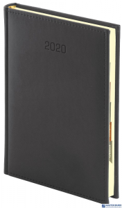 Terminarz książkowy A5 VIVELLA dzie/str.czarny 005RK WOKÓŁ NAS 392stron