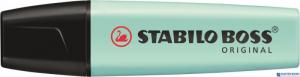 Zakreślacz STABILO BOSS pastelowy turkusowy 70/113
