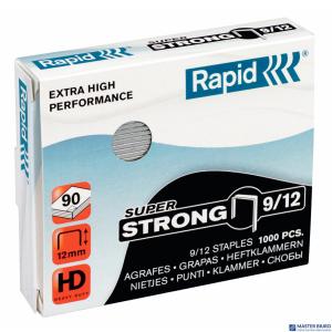 Zszywki 9/12 1M 1000szt Strong 24871300 RAPID