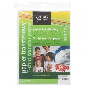 Papier A4 5ark 260605 transf.do tkanin ciemnych GALERIA PAPIERU
