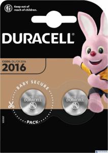 Bateria litowa DL 2016 B2 (2) DURACELL