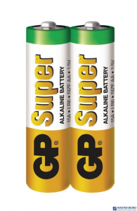 Baterie alkaliczna GP SUPER LR6/AA (2szt) 1,5V GP15AEBC-2S2