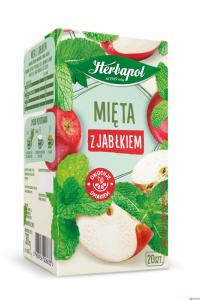 Herbata HERBAPOL Zielnik Polski Mięta z Jabłkiem 20tb/30g