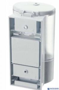 Dozownik sensor na płyny/żele do dezynfekcji biały 0,4L bezdotykowy/automat