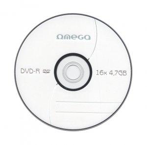 Płyta DVD+R 4,7GB 16X CAKE*10 OMEGA OMD1610+