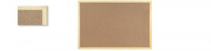 Tablica korkowa 60x40cm w ramie drew.kolor. TC64LMIX MB