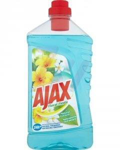 AJAX Płyn do mycia podłóg Floral Fiesta 1l Lagun Flowers (niebieski)