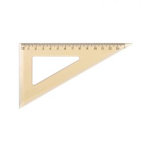 Ekierka szkolna GRAND GR853T 60/13cm transpa. 130-1710