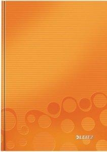Brulion w kratkę A5 Leitz WOW, pomarańczowy 46281044