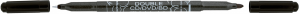 Marker CD dwustronny czarny 3616 CENTROPEN