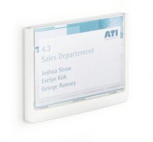 Click Sign tabliczka przydrzwiowa 149x105,5 m m Biały 486102 DURABLE