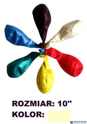 """Balony 10"""""""" METALLIC, kremowy, 100 szt. FIORELLO 170-1589"""