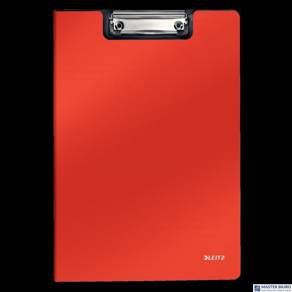 Deska  z klipsem LEITZ SOLID A4 jasnoczerwona 39621020