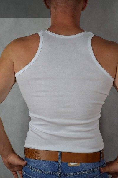 Podkoszulki męskie białe opakowanie 2 szt