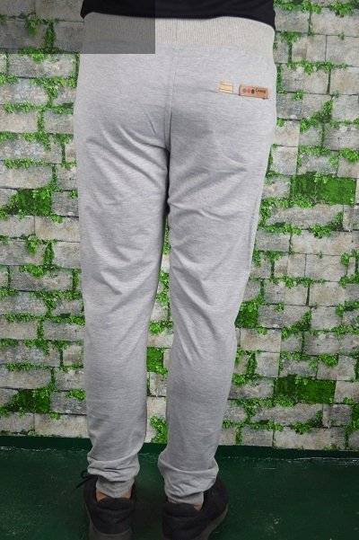 Spodnie męskie dresowe szare